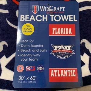 FAU Beach Towel